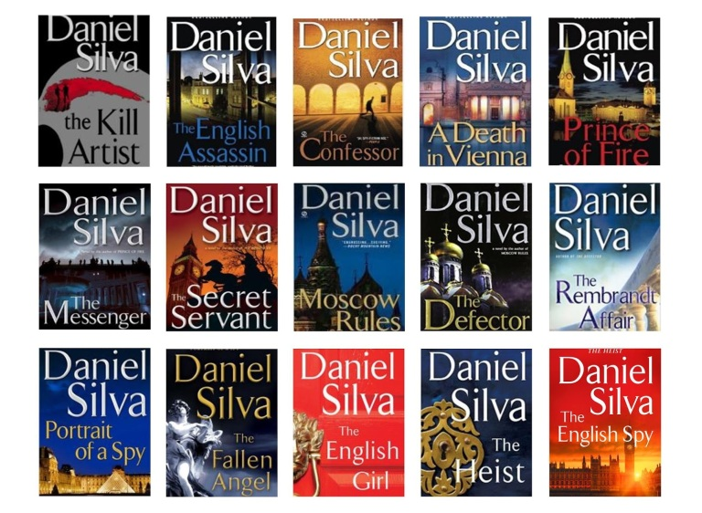 Image result for gabriel allon books