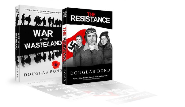 2-Book bundle-THE RESISTANCE & companion volume WAR IN THE WASTELAND